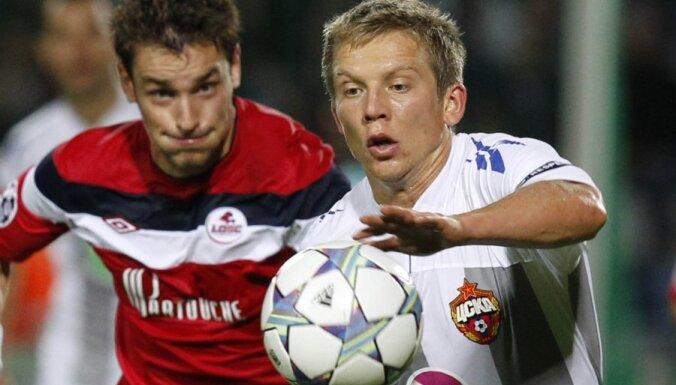 ЦСКА и Цауня добились крупной победы, Камеш проводит на поле времени все больше