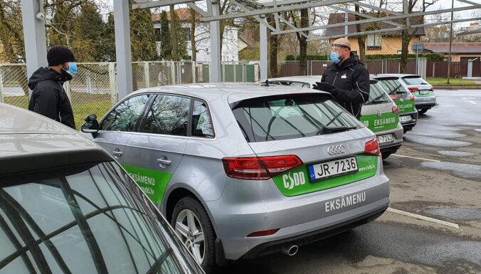 CSDD atsāk pieņemt autovadītāju braukšanas eksāmenus