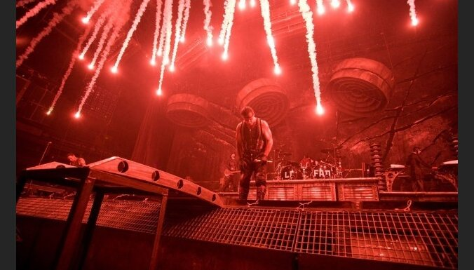 Koncerta apskats: 'Rammstein' Rīgā