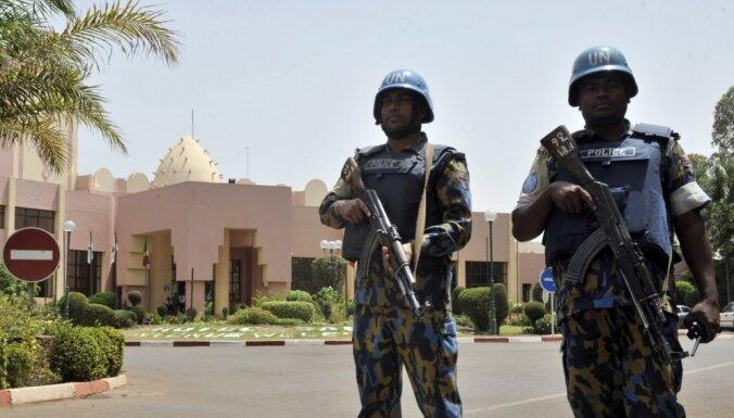 Террористы напали на охраняемую эстонскими военными базу в Мали