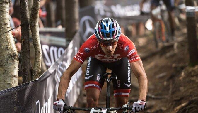 Blūms izcīna sesto vietu UCI līmeņa olimpiskā krosa sacensībās Itālijā