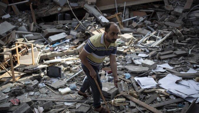 Izraēla-Gaza: Baidens aicina uz pamieru