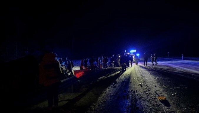 Autobusa avārijā Igaunijā cietuši četri Latvijas pilsoņi