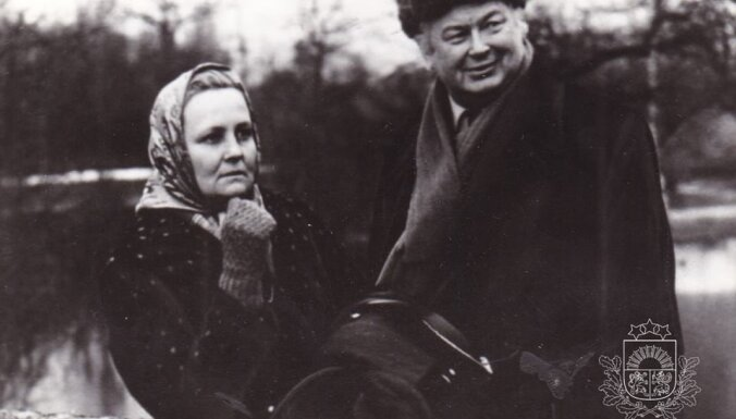 Arhīva foto: 28. augusta jubilāre – aktrise Velta Līne