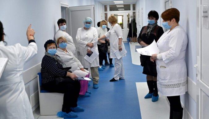 Kijevā spridzināšanas draudu dēļ evakuē un pārbauda visas slimnīcas