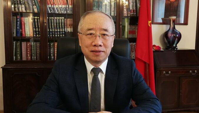 Ķīnas vēstnieks Latvijā: Uzturēt atvērtību un iekļautību, veicināt abpusēji izdevīgu sadarbību