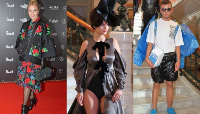 ФОТО: стильные рижане на открытии Riga Fashion Week
