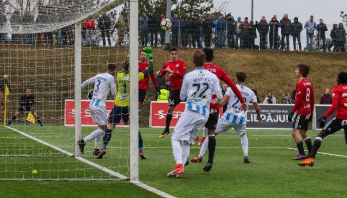 Futbola virslīgas sezona sākas ar 'Ventspils' un 'Liepāja/Mogo' komandu uzvarām
