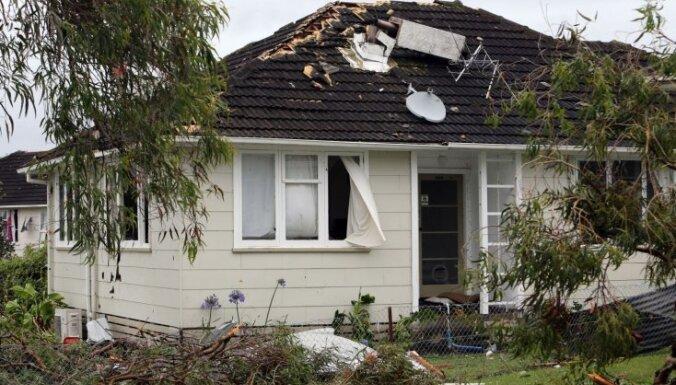 Viesuļvētra Jaunzēlandē laupa trīs dzīvības
