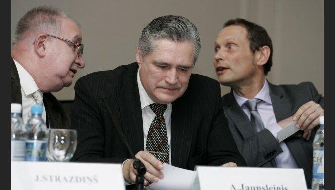 Яунслейнис: наши страдания кто-то пролоббировал
