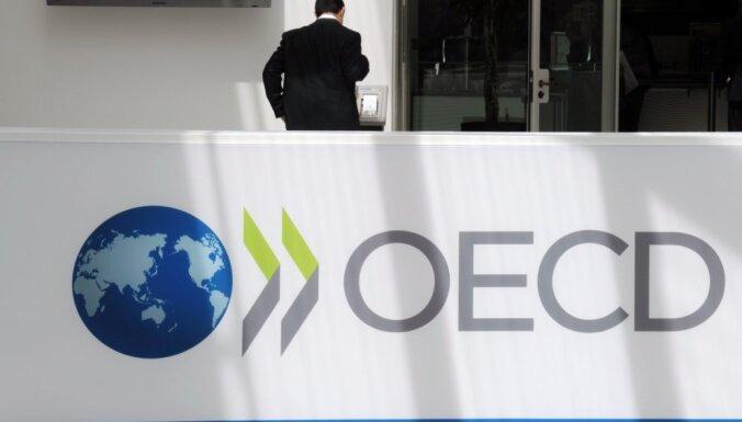 OECD: Латвия по росту экономики отстает от Литвы и Эстонии