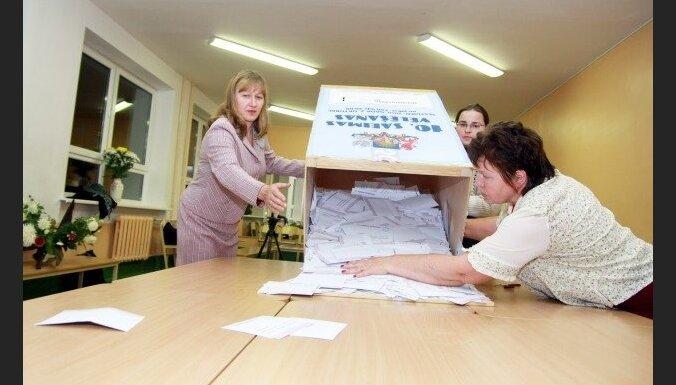 Paziņo oficiālos Saeimas vēlēšanu rezultātus