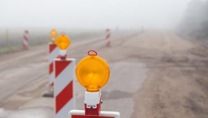 В этом году самую длинную региональную дорогу Латвии сделают полностью асфальтированной