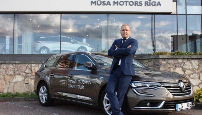 'Mūsa Rent' piedāvā jaunu automobiļu nomu par pievilcīgām cenām