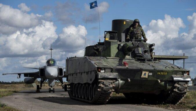 Zviedrija par 40% palielinās aizsardzības izdevumus