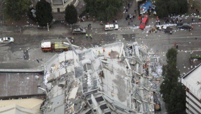 Jaunzēlandes zemestrīcē 113 bojāgājušie