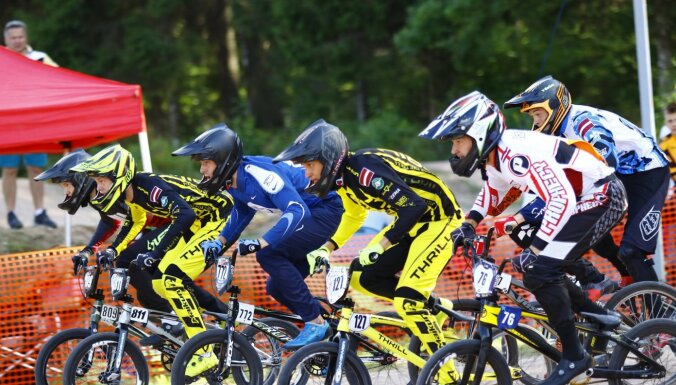 Latvijas BMX čempionāts turpināsies Smiltenē