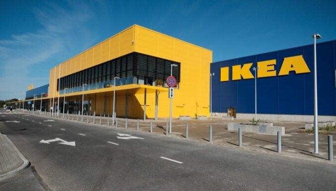 IKEA apstiprina plānus par veikala atvēršanu Igaunijā