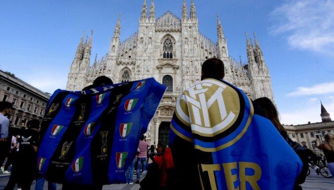'Inter' pēc 11 gadu pārtraukuma kļūst par Itālijas čempioniem