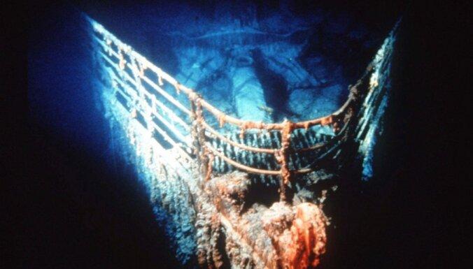 """Ученые: обломки """"Титаника"""" стремительно исчезают"""