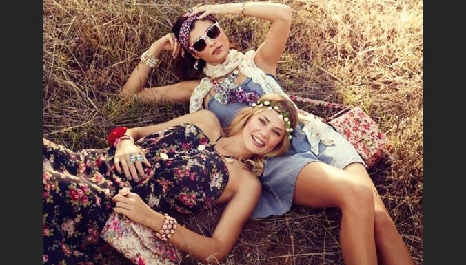 Новый тренд: девушки в венках