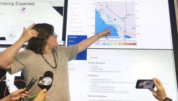 В Калифорнии произошло самое сильное за пять лет землятресение