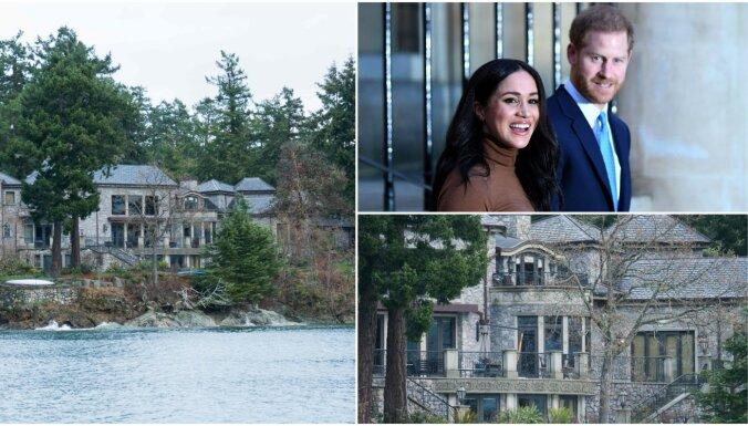 Foto: Nomaļais nams Kanādā, kur Harijs un Megana slēpjas no preses