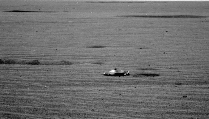 Uz Marsa atrasts Betmena auto