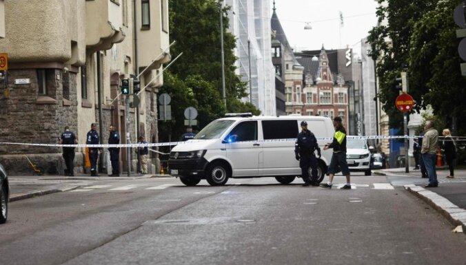 Helsinkos dzērājšoferis iebrauc pūlī; viens bojāgājušais