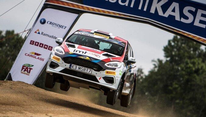 Seskam trešā vieta klasē Igaunijas WRC etapa atklāšanās ātrumposmā