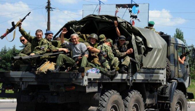 Pretterorisma vienības pie Marinovkas iznīcinājušas pretinieku tankus
