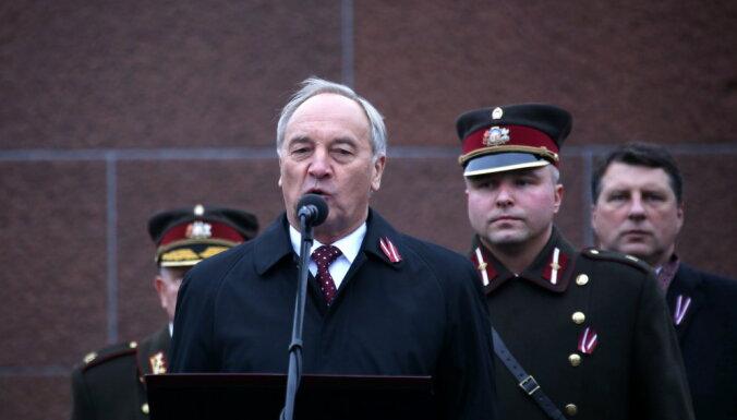 Президент: Латвия не планирует воевать, но мы готовы защищать свою страну
