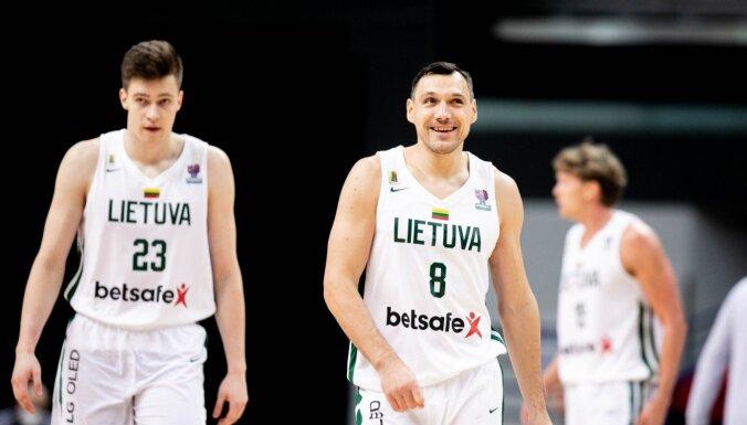 Lietuvas basketbolisti ielozēti vienā grupā ar Eiropas čempioni Slovēniju