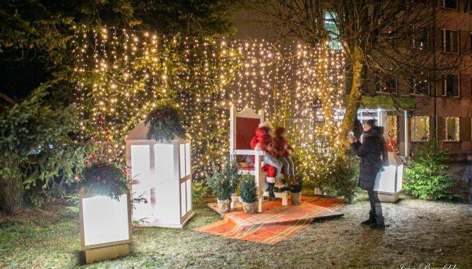 Впечатляющие ФОТО: Как Кулдига приоделась на праздники