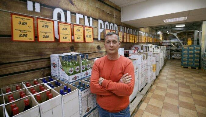 'Alko 1000' īpašnieks: cenu ietekmē igauņu alkatība, nevis akcīze