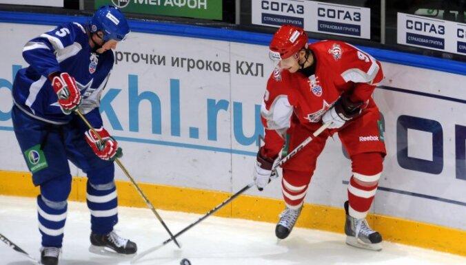 Jašina komanda KHL Zvaigžņu spēlē zaudē Jāgra komandai