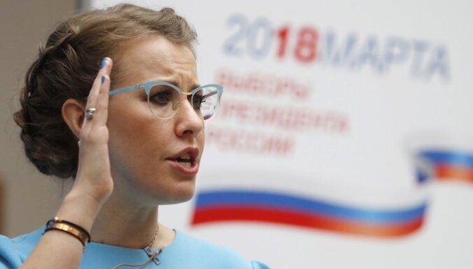 """Собчак выступает за санкции против """"друзей Путина"""" из-за дела Скрипаля"""