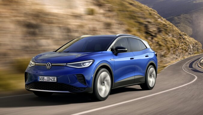 VW prezentējis savu pirmo pilnīgi elektrisko apvidnieku 'ID.4'