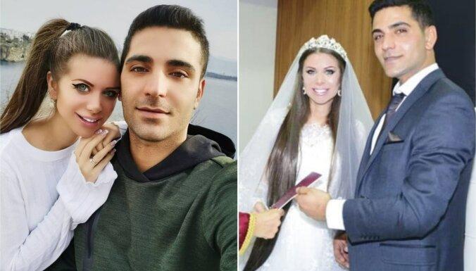 ФОТО: Латвийская Барби вышла замуж за турецкого возлюбленного