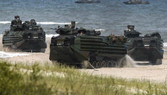 НАТО построит в Польше хранилище для военной техники США