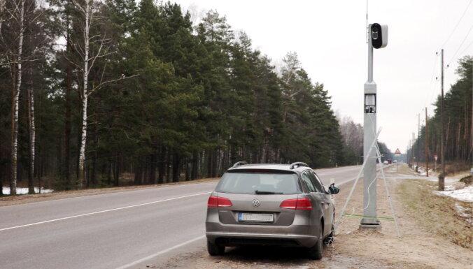 Возле Рижской окружной дороги снова сожгли фоторадары