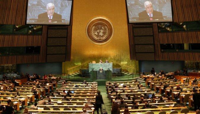 ANO DP pieņem rezolūciju par novērotāju nosūtīšanu uz Sīriju