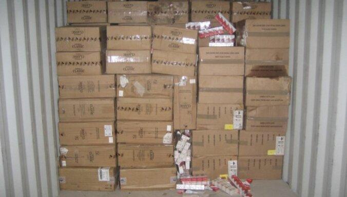 Контрабандист прятал в сухом молоке более 5 млн. сигарет