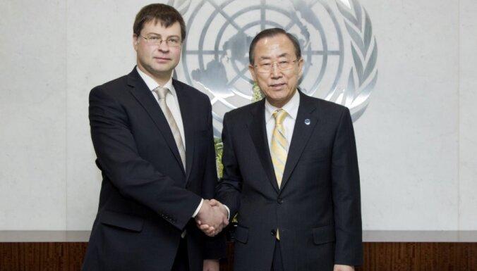 Valdis Dombrovskis ar ANO ģenerālsekretāru pārrunā Latvijas attīstības jautājumus