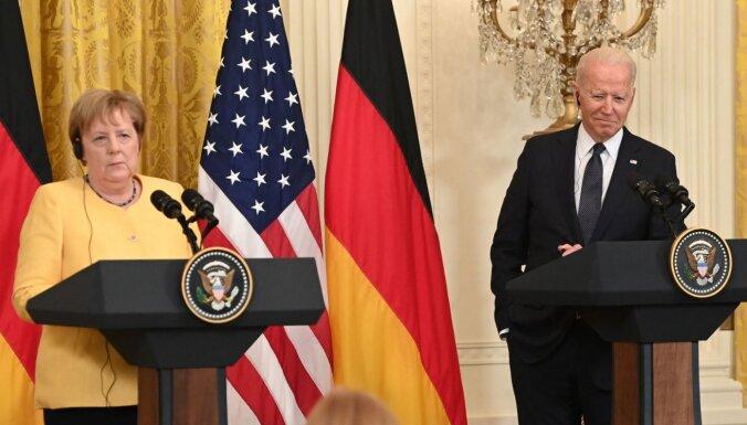 ASV un Vācija vienojas par 'Nord Stream 2' pabeigšanu; sola labumus Ukrainai