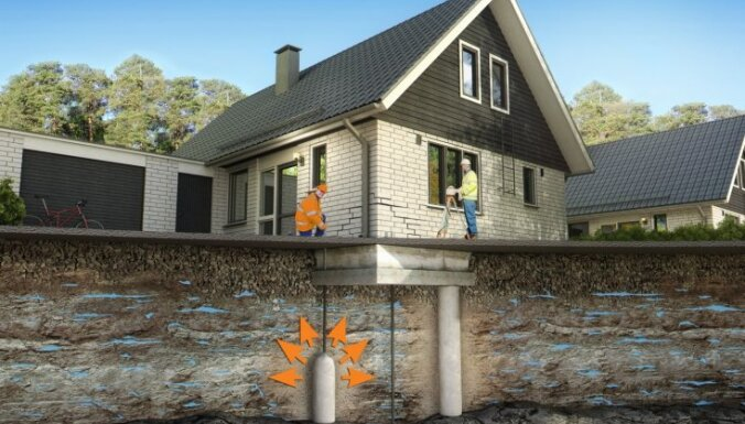 Kā novērst ēku un būvju nosēšanos un ietaupīt naudu
