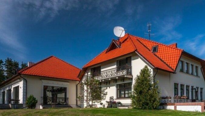 ФОТО: Дом бывшего премьер-министра Криштопанса выставлен на продажу за 4,9 млн евро