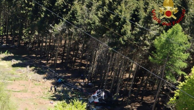 В Италии сорвалась с троса подъемника кабина. Погибли 14 человек