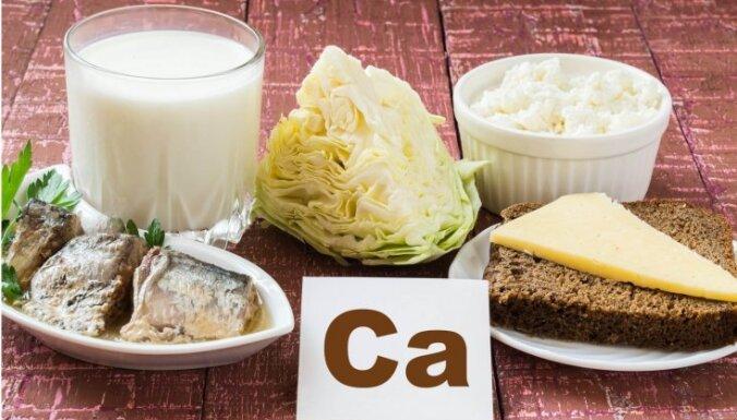 Kas jāzina, lai organismam netrūktu kalcija un agri neattīstītos osteoporoze