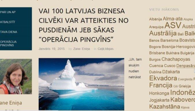 Latviete sociālajos tīklos lūdz naudu ceļojumam uz Antarktīdu